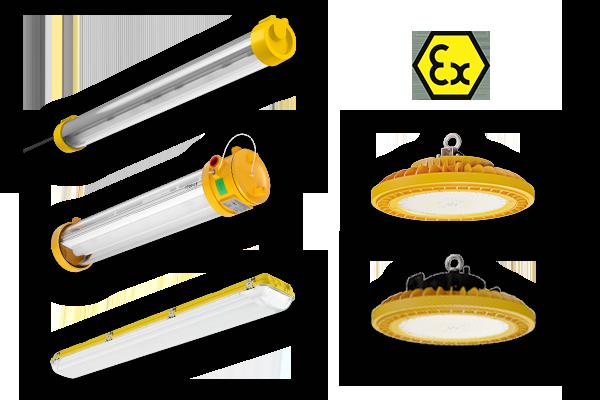 ATEX luminaires